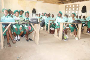 The Water Project: DEC Kitonki Primary School -  Students Inside Classroom
