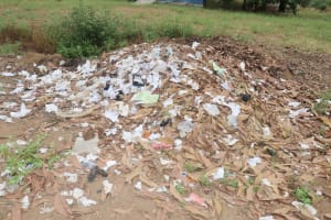 The Water Project: DEC Kitonki Primary School -  Garbage At School Compound