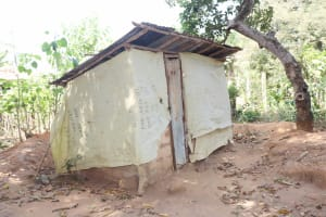 The Water Project: Lungi, Yongoroo, 32 Gbainty Bunlor -  Latrine