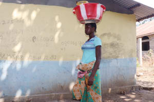 The Water Project: Lungi, Yongoroo, 32 Gbainty Bunlor -  Young Woman Selling Palm Oil