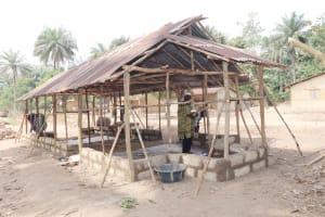 The Water Project: Lokomasama, Kalangba Junction, Next to Alimamy Musa Kamara's House -  Community Mosque Under Construction