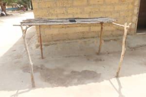 The Water Project: Lokomasama, Kalangba Junction, Next to Alimamy Musa Kamara's House -  Dishrack