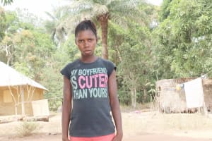 The Water Project: Lokomasama, Kalangba Junction, Next to Alimamy Musa Kamara's House -  Fatmata B