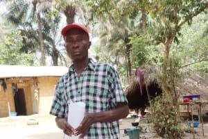 The Water Project: Lokomasama, Kalangba Junction, Next to Alimamy Musa Kamara's House -  Headman Pa Molai Sesay