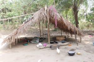 The Water Project: Lokomasama, Kalangba Junction, Next to Alimamy Musa Kamara's House -  Kitchen
