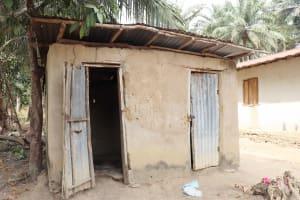 The Water Project: Lokomasama, Kalangba Junction, Next to Alimamy Musa Kamara's House -  Latrine