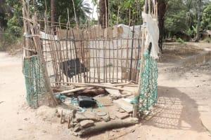 The Water Project: Lokomasama, Kalangba Junction, Next to Alimamy Musa Kamara's House -  Water Source