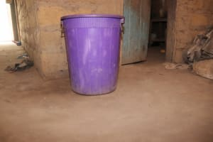 The Water Project: Lokomasama, Kalangba Junction, Next to Alimamy Musa Kamara's House -  Water Storage