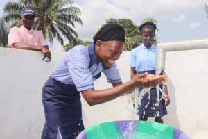 The Water Project: Sulaiman Memorial Academy Jr. Secondary School -  Water Celebrations