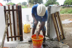 The Water Project: Lungi, Suctarr, #3 Lovell Lane -  Testing Of Cylinder