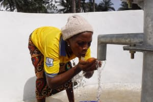 The Water Project: Lokomasama, Rotain Village -  Drinking Clean And Safe Water