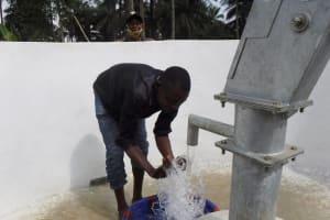 The Water Project: Lokomasama, Rotain Village -  Splashing Water