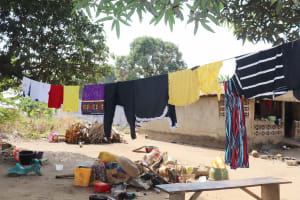 The Water Project: Lungi, Yongoroo, 32 Gbainty Bunlor -  Clothesline