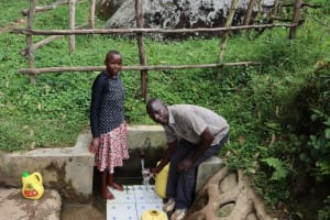 The Water Project: Ngeny Barak Community, Ngeny Barak Spring -  Gloria And Josphat Zangu