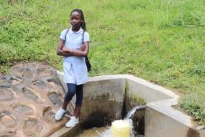 The Water Project: Shikangania Community, Abungana Spring -  Amy