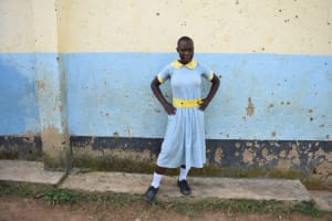 The Water Project: Mabanga Primary School -  Milcah Strikes A Pose