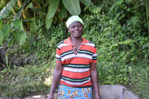 The Water Project: Munenga Community, Burudi Spring -  Mama Christine