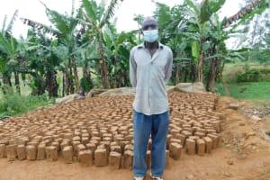 The Water Project: Eshiakhulo Community, Kweyu Spring -  Herbert Masked Up
