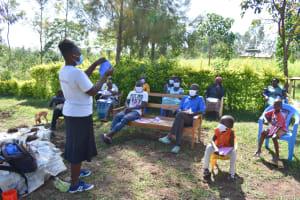 The Water Project: Musango Commnuity, Wabuti Spring -  Homemade Mask Tutorial