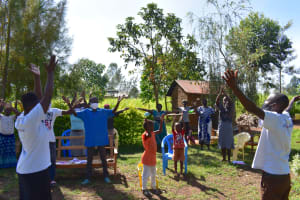 The Water Project: Musango Commnuity, Wabuti Spring -  Ice Breaker Activity