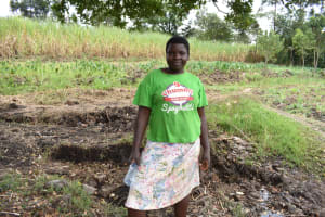 The Water Project: Makhwabuyu Community, Sayia Spring -  Irene Mmbasu