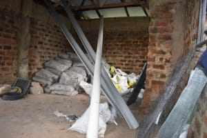 The Water Project: Friends Musiri Secondary School -  Hardware Materials In Storage