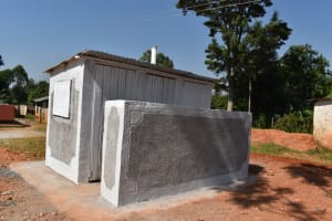 The Water Project: Kitagwa Primary School -  Complete Boys Latrine Block