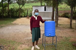 The Water Project: Wavoka Primary School -  Real At A New Handwashing Station