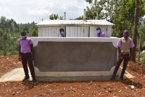 The Water Project: Friends Musiri Secondary School -  Boys At Their New Latrines