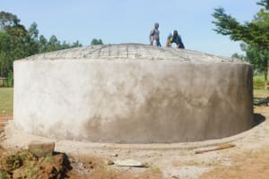 The Water Project: St. Peter's Ebunga'le Primary School -  Dome Work