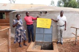 The Water Project: Kitagwa Primary School -  Happy Administrators