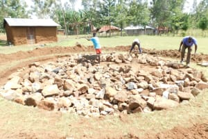 The Water Project: St. Peter's Ebunga'le Primary School -  Setting Up The Foundation