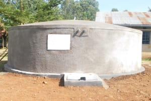 The Water Project: St. Peter's Ebunga'le Primary School -  Complete Rain Tank