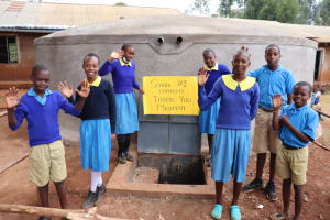 The Water Project: Kitagwa Primary School -  Students Say Thank You