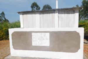 The Water Project: St. Peter's Ebunga'le Primary School -  Complete Vip Latrine Block