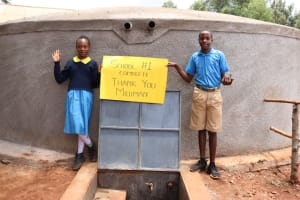 The Water Project: Kitagwa Primary School -  Thank You