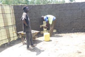 The Water Project: St. Peter's Ebunga'le Primary School -  Interior Cement Work
