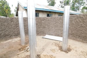 The Water Project: St. Peter's Ebunga'le Primary School -  Setting Up The Pillars