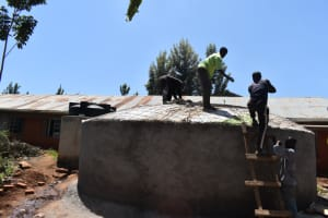 The Water Project: Kitagwa Secondary School -  Dome Work