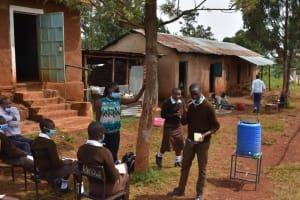 The Water Project: Kitagwa Secondary School -  Dental Hygiene Demonstration