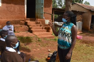 The Water Project: Kitagwa Secondary School -  Dental Hygiene Session