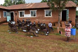 The Water Project: Kitagwa Secondary School -  Handwashing Demonstration