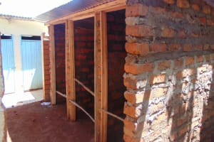 The Water Project: Kitagwa Secondary School -  Latrine Construction