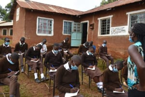The Water Project: Kitagwa Secondary School -  Taking Notes At The Training