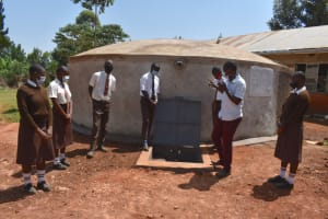 The Water Project: Kitagwa Secondary School -  Training On Tank Maintanance