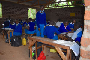 The Water Project: Friends Mudindi Village Primary School -  Students In Class