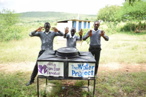 The Water Project: Kaketi Secondary School -  Clean Hands
