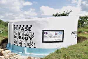 The Water Project: Kaketi Secondary School -  Complete Tank