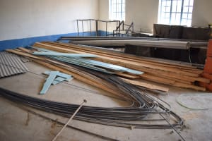 The Water Project: Kaketi Secondary School -  Construction Supplies