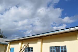 The Water Project: Kaketi Secondary School -  Guttering
